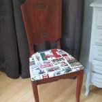 chaise tissus Italien