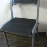 Chaise bois/fer