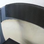 Détail chaise bois/fer