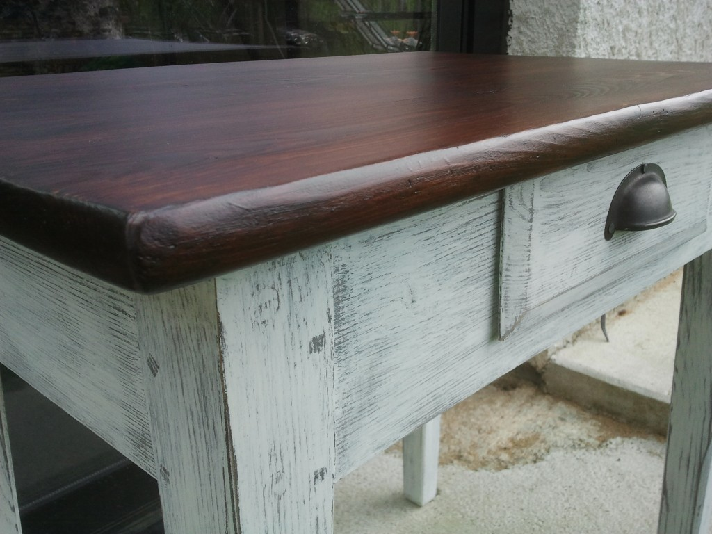 Petite Table Bois/peint
