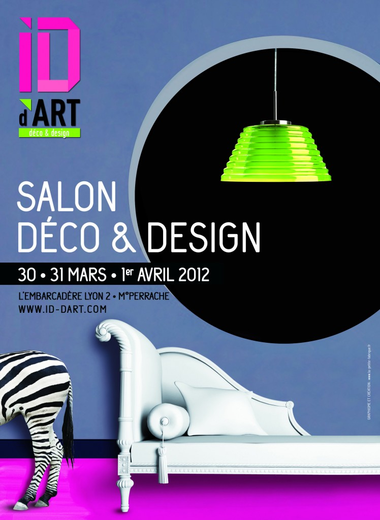 Affiche deco design ce site regroupe trois activit s for Salon du design